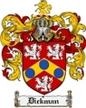 Thumbnail Dickman Family Crest Dickman Coat of Arms Digital Download