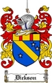 Thumbnail Dickson Family Crest  Dickson Coat of Arms