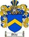 Thumbnail Diehl Family Crest  Diehl Coat of Arms