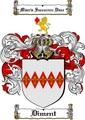 Thumbnail Diment Family Crest  Diment Coat of Arms