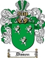 Thumbnail Disson Family Crest  Disson Coat of Arms