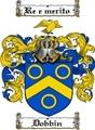 Thumbnail Dobbin Family Crest  Dobbin Coat of Arms
