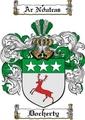 Thumbnail Docherty Family Crest  Docherty Coat of Arms