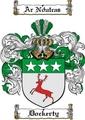 Thumbnail Dockerty Family Crest  Dockerty Coat of Arms