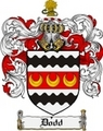 Thumbnail Dodd Family Crest Dodd Coat of Arms Digital Download