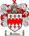 Thumbnail Doddson Family Crest  Doddson Coat of Arms