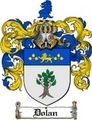 Thumbnail Dolan Family Crest  Dolan Coat of Arms