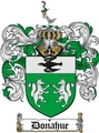 Thumbnail Donahue Family Crest  Donahue Coat of Arms