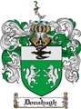 Thumbnail Donahugh Family Crest  Donahugh Coat of Arms