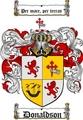 Thumbnail Donaldson Family Crest  Donaldson Coat of Arms