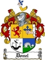Thumbnail Donel Family Crest  Donel Coat of Arms