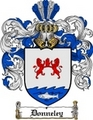 Thumbnail Donneley Family Crest  Donneley Coat of Arms