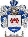 Thumbnail Donnelie Family Crest  Donnelie Coat of Arms