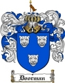 Thumbnail Doorman Family Crest  Doorman Coat of Arms