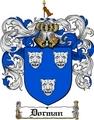 Thumbnail Dorman Family Crest  Dorman Coat of Arms