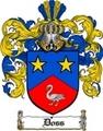 Thumbnail Doss Family Crest  Doss Coat of Arms