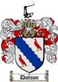 Thumbnail Dotson Family Crest  Dotson Coat of Arms