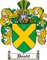 Thumbnail Doudd Family Crest  Doudd Coat of Arms