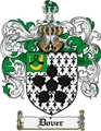 Thumbnail Dover Family Crest Dover Coat of Arms Digital Download