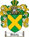 Thumbnail Dowdy Family Crest  Dowdy Coat of Arms