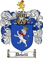 Thumbnail Dowill Family Crest  Dowill Coat of Arms