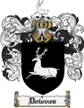 Thumbnail Downes Family Crest Downes Coat of Arms Digital Download