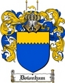 Thumbnail Downham Family Crest  Downham Coat of Arms