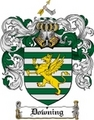 Thumbnail Downing Family Crest  Downing Coat of Arms