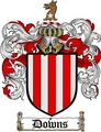 Thumbnail Downs Family Crest  Downs Coat of Arms
