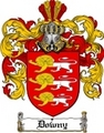 Thumbnail Downy Family Crest  Downy Coat of Arms