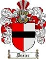 Thumbnail Dozier Family Crest  Dozier Coat of Arms