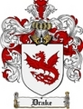 Thumbnail Drake Family Crest Drake Coat of Arms Digital Download