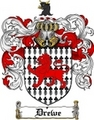 Thumbnail Drewe Family Crest  Drewe Coat of Arms
