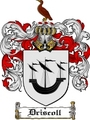 Thumbnail Driscoll Family Crest  Driscoll Coat of Arms