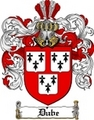 Thumbnail Dube Family Crest  Dube Coat of Arms
