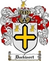 Thumbnail Duckwort Family Crest  Duckwort Coat of Arms