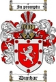 Thumbnail Dunbar Family Crest  Dunbar Coat of Arms