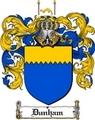 Thumbnail Dunham Family Crest  Dunham Coat of Arms