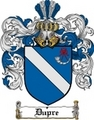 Thumbnail Dupre Family Crest  Dupre Coat of Arms