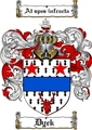 Thumbnail Dyck Family Crest  Dyck Coat of Arms