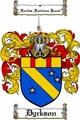 Thumbnail Dyckson Family Crest  Dyckson Coat of Arms