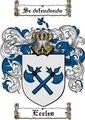 Thumbnail Eccles Family Crest  Eccles Coat of Arms