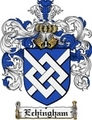 Thumbnail Echingham Family Crest Echingham Coat of Arms Digital Download