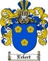 Thumbnail Eckert Family Crest  Eckert Coat of Arms