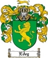 Thumbnail Edey Family Crest  Edey Coat of Arms