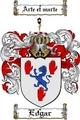 Thumbnail Edgar Family Crest  Edgar Coat of Arms