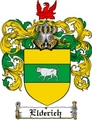 Thumbnail Elderich Family Crest  Elderich Coat of Arms
