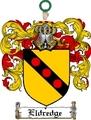 Thumbnail Eldredge Family Crest  Eldredge Coat of Arms