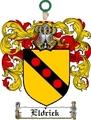 Thumbnail Eldrick Family Crest  Eldrick Coat of Arms