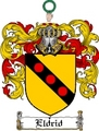 Thumbnail Eldrid Family Crest  Eldrid Coat of Arms